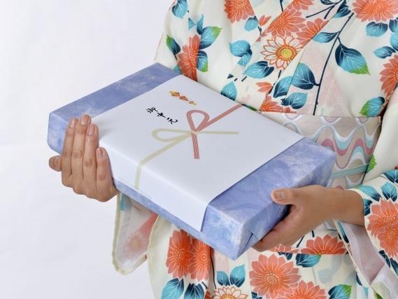 強化買取品の贈答品の写真