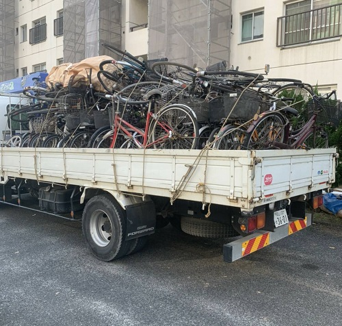 【岡山・倉敷で不用品と家具の出張買取】買取ジャパンのトラックの写真